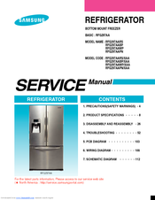 samsung rfg297aars service manual pdf download