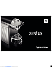 Nespresso zenius manuals manuals and user guides for nespresso zenius we have 3 nespresso zenius manuals available for free pdf download user manual stopboris Gallery