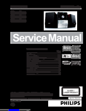 Philips MCM204 Service Manual