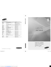 Samsung UE32C5100 User Manual