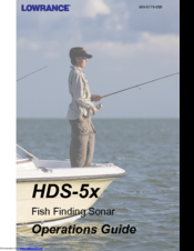LOWRANCE HDS-5X OPERATION MANUAL Pdf Download