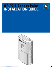 Motorola AP-6511 Installation Manual