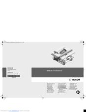 Bosch GTS 10 J Professional Manuals