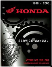 Honda 2000 Vt750cd2 Shadow Manuals Manualslib