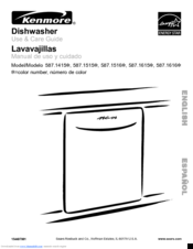 Kenmore 587.1616 Series Use & Care Manual
