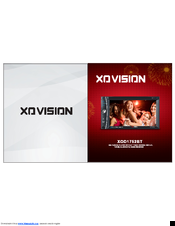 XO VISION XOD1752BT OPERATION MANUAL Pdf Download. on