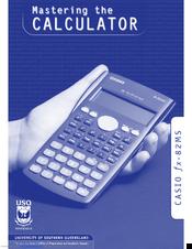 Casio fx-82MS Manuals