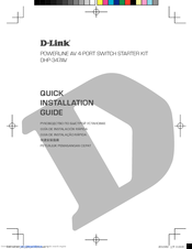 D-Link DHP-347AV Quick Installation Manual