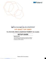 roland versacamm vp 540i manuals rh manualslib com roland versacamm 540i manual roland versacamm vp-300 manual