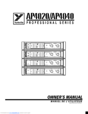 yorkville ap4040 service manuals rh manualslib com