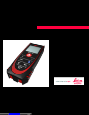 D2 manuals & documents | leica geosystems.