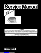 panasonic air conditioner remote instructions