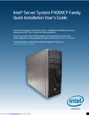 Drivers for Intel P4000CP Server System