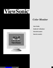 viewsonic pf790 19 crt display manuals rh manualslib com Example User Guide User Guide Template
