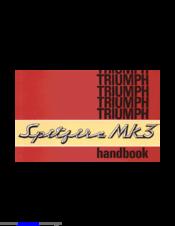 Triumph Spitfire Mk3 Manuals