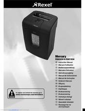 rexel mercury rss2434 manuals rh manualslib com Rexel Shredder Rexel USA