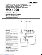 juki mo 1000 manuals rh manualslib com