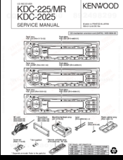 kenwood kdc 2025 manuals kenwood kdc 2025 service manual