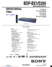 sony bdp s350 blu ray disc player manuals rh manualslib com sony blu ray disc dvd player bdp s350 manual sony bdp s350 manual pdf