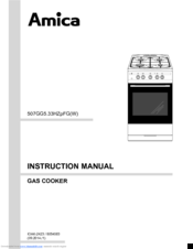 amica 507gg5 33hzpfgw manuals rh manualslib com amica cooker instruction manual Whirlpool Oven Manual