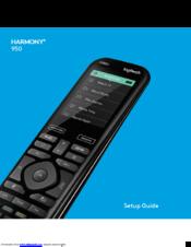 logitech harmony 950 manuals rh manualslib com logitech harmony 700 manual pdf Logitech 740