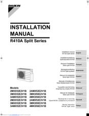 Daikin sius39-501 rxymq-m series r410a heat pump 60hz service.