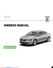 skoda superb b8 manuals rh manualslib com skoda superb owners manual 2017 skoda superb owners manual 2014