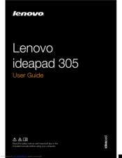 lenovo ideapad 305 manuals rh manualslib com Memory Lenovo 3000 N200 Memory Lenovo 3000 N200