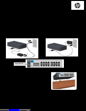 Hp procurve 1410 24g gigabit ethernet switch by office depot.