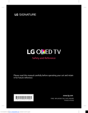 lg oled tv instructions