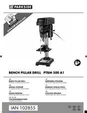 Parkside Ptbm 500 A1 Manuals