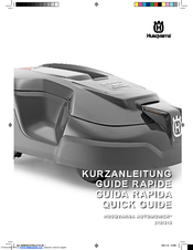 Husqvarna 315, 320 Quick Manual