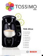 bosch tassimo amia 20 series manuals rh manualslib com bosch tassimo coffee maker instructions manuel bosch tassimo coffee maker