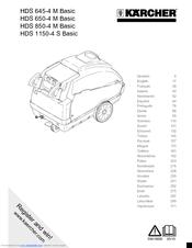 Kärcher Hds 1150 4 S Basic Manuals