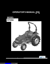 manuals and user guides for shibaura st450  we have 1 shibaura st450 manual  available for free pdf download: operator's manual