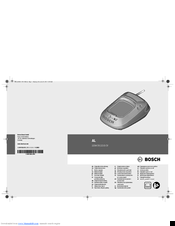 Bosch AL 2204 CV Original Instructions Manual
