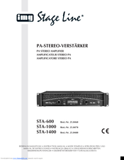 Img Stage Line STA-1400 Manuals