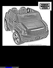 Power wheels batman dune racer/car~original instruction/owner's.