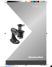 KitchenAid 5KSM1JA Manual