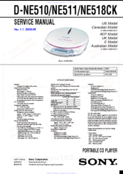 sony d ne510 atrac3 mp3 cd walkman manuals rh manualslib com Atrac Tape Atrac Cassette