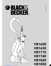 Black & Decker VB1820 Manual