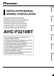 pioneer avic f3210bt manuals