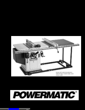 powermatic 66 manuals powermatic 66 saw parts powermatic 66 instruction manual & parts list
