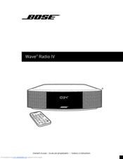 bose wave music system iv manuals rh manualslib com bose wave radio 3 owners manual bose wave radio 2 owners manual