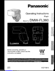 Panasonic g1 manual / operating instructions.