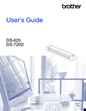 Brother DS-720D User Manual