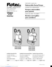 flotec fpsc4550a manuals rh manualslib com