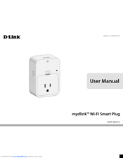 D-Link mydlink DSP-W215 User Manual