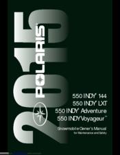 Polaris 550 INDY LXT Manuals