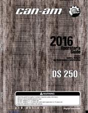 Can Am Ds250 Manuals Manualslib
